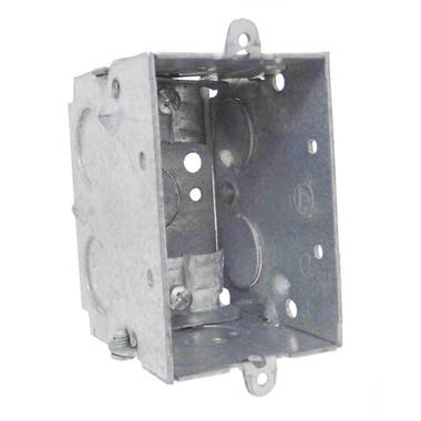 "Appleton 384LE - 3 x 2"" Square Corner Switch Boxes"