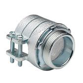 Bridgeport 418 3-Inch Flexible Metal Conduit Squeeze Connector