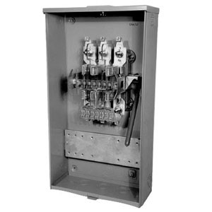 MILBANK U4497-XL-WC-61 - CT Bussed 3P 4W Meter Socket for Illinois Power