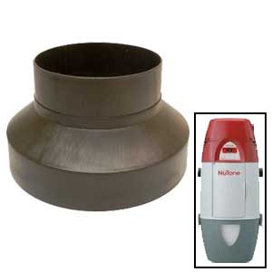 """Broan 475 - 6"""" To 4"""" Duct Reducer"""
