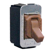 Pass & Seymour ACD1 - Tumbler Switch, Brown Interchange Switch