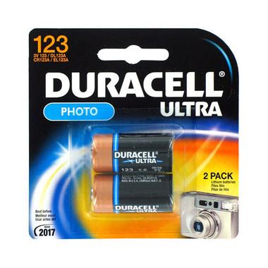 DURACELL DL123AB2PK LITHIUM 3V LITH BTTRY 2PK