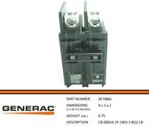 GENERAC 0E7886J - Circuit Breaker 65A 240V