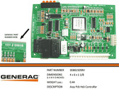 GENERAC 0D86150SRV - PART CONTROL BOARD EPS4389 7K