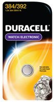 DURACELL D384/392PK - BATTERY AG2O 1.55V COIN CELL
