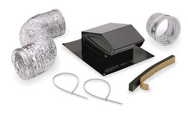 """Broan RVK1A - Roof Cap Kit for 3"""" and 4"""" Duct"""