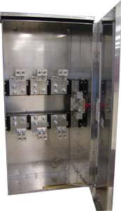 Erickson Electrical CT84PTLAMR - Indoor / Outdoor Aluminum Transformer Cabinet