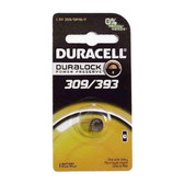 Duracell D309/393PK - 1.5V Silver Oxide Watch Battery