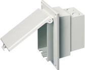 Arlington DBVR1W - Low Profile Vertical Recessed IN BOX for Retrofit Construction with White Cover