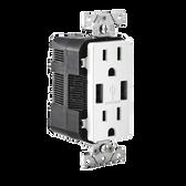 Leviton T5632 - USB Charger/Tamper-Resistant Duplex Receptacle
