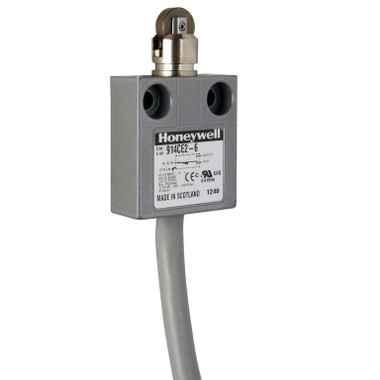 Honeywell Micro Switch 914CE2-6 -  Medium-Duty Limit Switch with 6 Foot Cable
