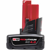 Milwaukee 48-11-2440 - M12 Red Lithium XC 4.0 Extended Capacity Rechargeable Battery Pack