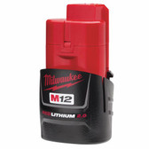Milwaukee 48-11-2420 - M12 RedLithium 2.0 Compact Rechargeable Battery