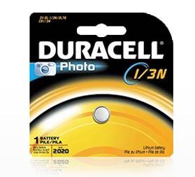 Duracell DL1/3N - Lithium 3V Digital Camera Battery