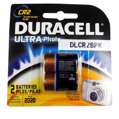 Duracell CR2 - Lithium 3V Photo Batteries - 2 Pak