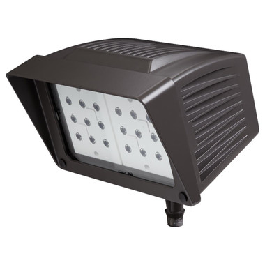 Atlas PFM43LED - Flood LED 43W 120-277V Fixture with Knuckle