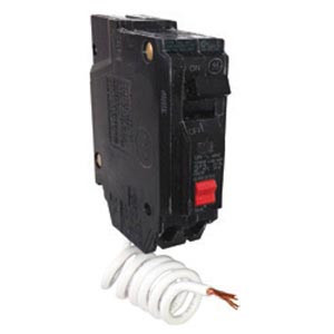 LOT OF 10 GE THQL1120 Plug On 1 Pole 20 Amp Circuit Breakers