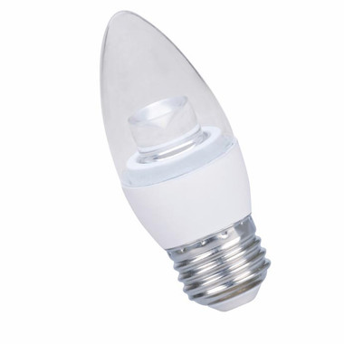 Halco B11CL5/827/E26/LED - LED B11 4.5W 2700K DIMMABLE E26 Bulb