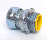 "Crouse-Hinds 1650 - EMT 1/2"" Concrete Tight Straight Compression Connector"