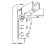 T&B B919 - Kindorf Right hand Steel Gusset Connector