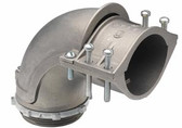 Bridgeport 812 - 3 Inch 90D Iron Flex Conncector
