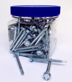 10X2TEK - Self Drilling Hex Washer Head Screw 100/Jar