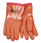 Kinco 8182-L - Acrylic Lined PVC Coated Gloves - Large