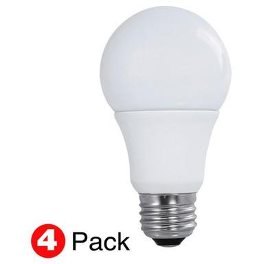 Satco S29589 - LED A19 E26 9W Bulbs 4/Pak