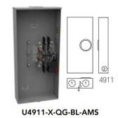 Milbank U4911XQGBLAMS - MS 320A 3PH C OHUG 4W 7T LVR