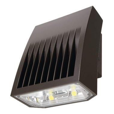 Lumark XTOR6B - 58W LED 5000K, 120-277V, Carbon Bronze Lens Wall Pack