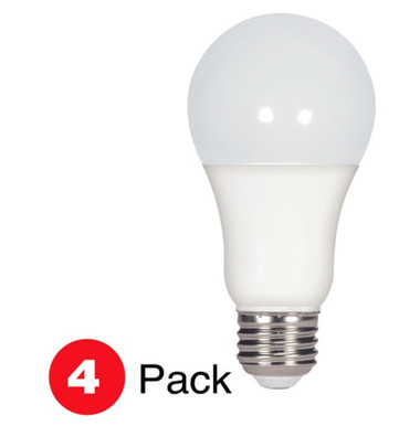 Satco S28790 - LED A19 E26 15.5W 5K 4/PK Bulbs
