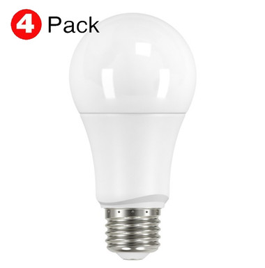 SATCO S29558 LED A19 E26 9.5W 4K Bulbs 4/Pack