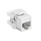 Leviton 61110-RW6 eXtreme Cat 6 QuickPort Jack - WHITE