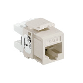 Leviton 61110-RT6 eXtreme Cat 6 QuickPort Jack - LIGHT ALMOND