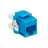 Leviton 61110-RL6 eXtreme Cat 6 QuickPort Jack - BLUE