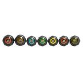 Klein Tools 647M - Magnetic Nut Driver Set, 6-Inch Shafts, 7-Piece