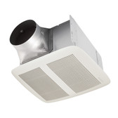 NuTone® QTXEN150 CFM Ventilation Fan with White Grille, 1.4 Sones; ENERGY STAR®