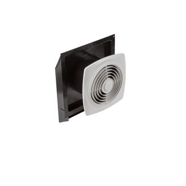 Broan® 509 8-Inch Through Wall Exhaust Vent Fan, 180 CFM