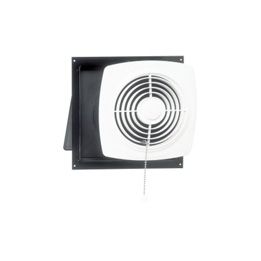 Broan® 506 10-Inch Chain-Operated Wall Exhaust Vent Fan, 430 CFM