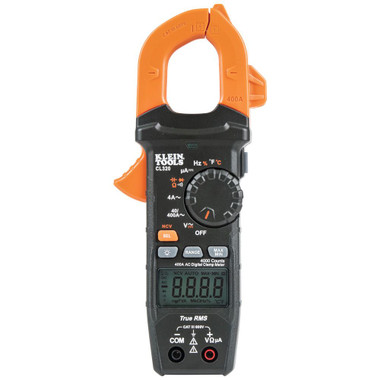 Klein Tools CL320 HVAC Digital Clamp Meter, AC Auto-Ranging 400 Amp