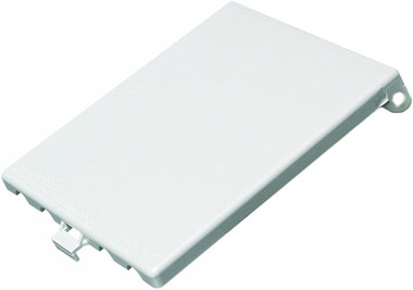 Arlington DBV2 In Box Replacement Cover 2-Gang Vertical - White