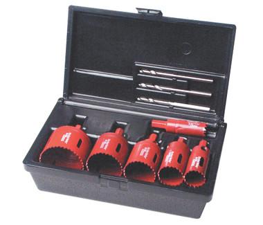 Electricians 7 pc Kit, Bimetal,Arbor Attached Real McCoy