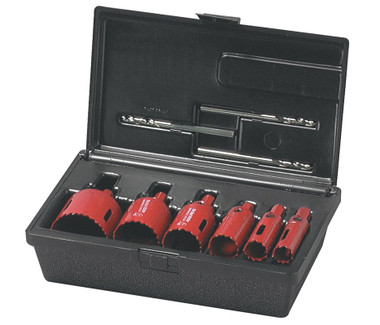 Plumbers 7 pc Kit, Bimetal,Arbor Attached Real McCoy