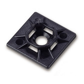 "Cable Ties Mounting Back 1-1/2"" Blk."