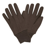 Gloves - Brown Jersey Gloves (GL605)