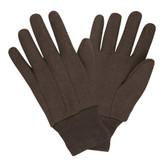 Gloves - Brown Jersey Gloves (GL605)