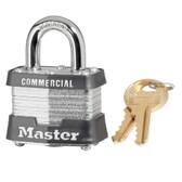 MASTER LOCK Padlock, Different Key (1A376)