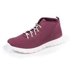 Kerrigan Burgundy Slip-On High Top Sneakers