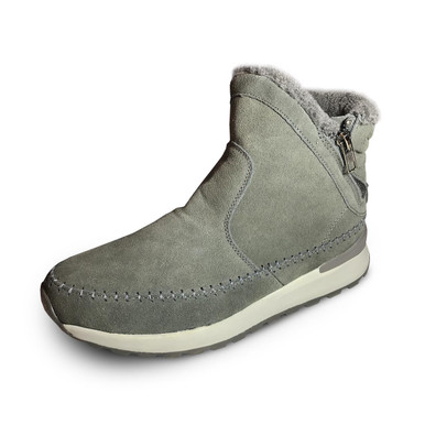 Sidney Gray Suede Booties