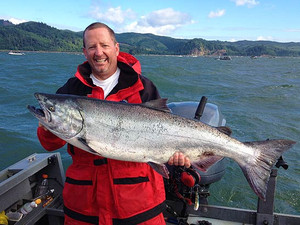 Salmon Fishing Trip $235 per angler this is a 50% deposit